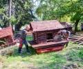 Ремонтираха патешките къщички в езеро