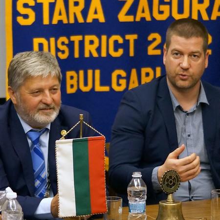 Живко Тодоров - среща с Ротари клуб