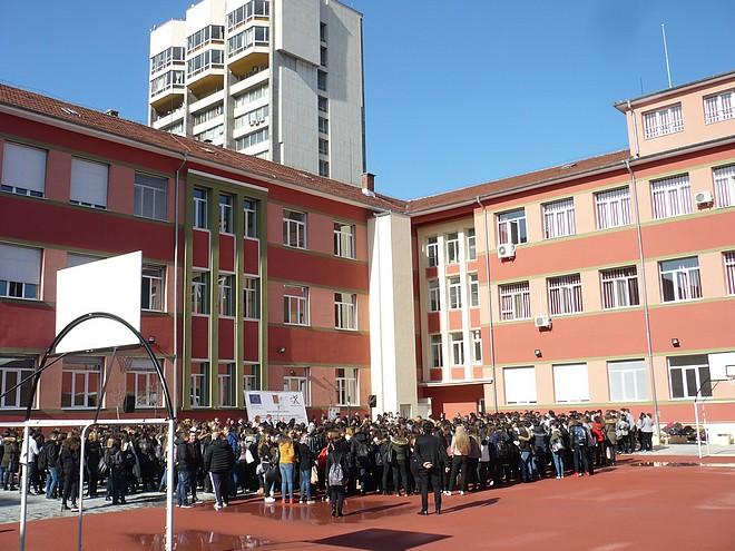 Targovska gimnazia 660