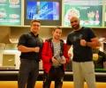 Румънската боксова звезда Богдан Дину беше специален гост на Spartan