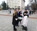 Старозагорци написаха празнични пожелания по инициатива на младежите от ГЕРБ
