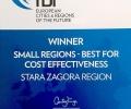 Стара Загора отново сред първите в престижна международна класация за обещаващи инвестиционни дестинации