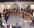 Хоро извиха лозари във фоайето на Община Стара Загора навръх Трифон Зарезан