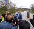 Главният държавен здравен инспектор доц. д-р Ангел Кунчев посети село Паничерево