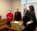 Депутати на БСП с дарение за Центъра за спешна медицинска помощ в Стара Загора