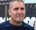 Старши треньорът Димитър Димитров след контролата на