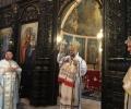 Св. Божествена Златоустова литургия отслужи на Преполовение Старозагорският митрополит Киприан