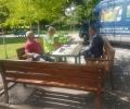 Нови пейки облагородяват паркове и междублокови пространства в Стара Загора