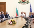 Премиерът Борисов проведе среща с представители на бизнеса и синдикалните организации