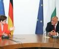 Премиерът Бойко Борисов се срещна с министъра на отбраната на Федерална Република Германия Анегрет Крамп-Каренбауер