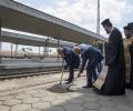 Направиха първа копка на реконструкцията на жп гара Стара Загора