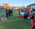 ВМРО подари екипи и топки на най-малките футболисти в Чирпан
