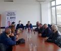 Кандидат-депутати на ВМРО се срещнаха със синдикалисти и бизнесмени