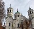Вечерно богослужение на Неделя Сиропустна в Стара Загора с всички свещенослужители
