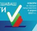 Разпределение на мандатите за 45-то НС в страната и в 27-ми Старозагорски избирателен район