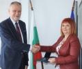 Почетен знак на Агенцията за метрологичен и технически надзор за областния управител Гергана Микова