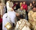 """На Велики Четвъртък митрополит Киприан извърши ритуала """"умиване на нозете"""""""