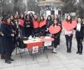 С демонстрация на пушеща кукла отказват зависимите в Стара Загора