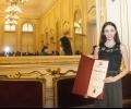 Примабалерината Ромина Славова с награда от министъра на културата