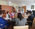 Кметът на Казанлък Галина Стоянова се срещна с посланиците от журито на