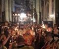 Стотици старозагорци се стекоха на Пасхалното богослужение в катедралния храм