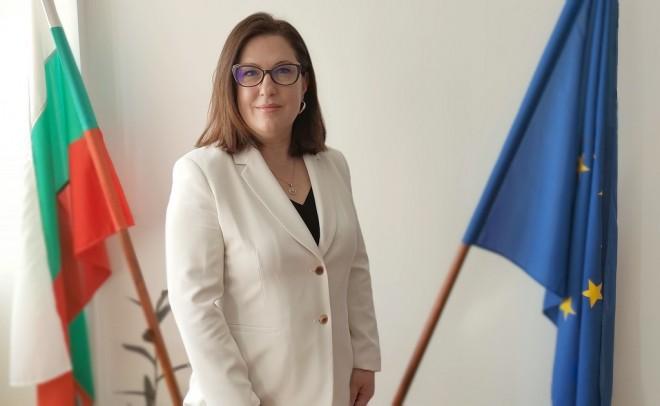 Таня Димитрова - встъпване в длъжност