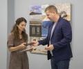 Подредиха в изложба картините на седемте художници от пленера