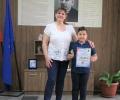 """Старозагорски второкласник спечели първа награда на Националната изложба """"Моето любимо училище"""""""