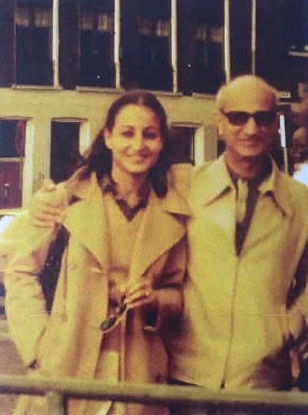 Бенжамен Варон с дъщеря си Раймонда