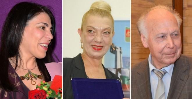 Десислава Стефанова, Силвия Томова и проф. Иван Божков