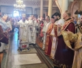 Митрополит Киприан оглави св. литургия в Казанлък за големия празник Успение на Пресвета Богородица