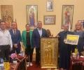 Икона на Света Богородица от митрополит Киприан ще закриля Ротари клуб